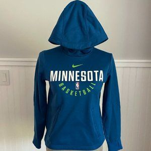 Minnesota Timberwolves Sweatshirt Hoodie Youth M